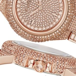 MICHAEL KORS Camille Rose Gold Dial Watch MK5862